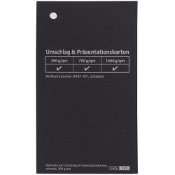 Prezentacinis kartonas 700gsm 70x100 cm juodos sp.