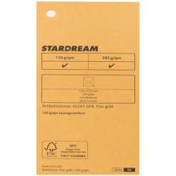 Metalizuotas popierius Stardream fine gold 285g/m2 72x102 cm aukso sp.