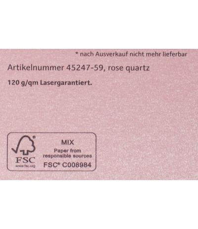 Metalizuotas popierius Stardream rosenquarz 285gsm Nr. 59 rožinės sp.