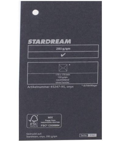 Metalizuotas popierius Stardream onyx 285g/m2 72x102 cm onikso sp.