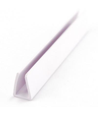 PVC profilis suspaudimo baltas 8mm*3000mm 367