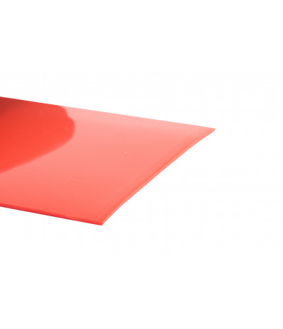 PVC juosta oranžinė 2mm*200mm lygi ref.162