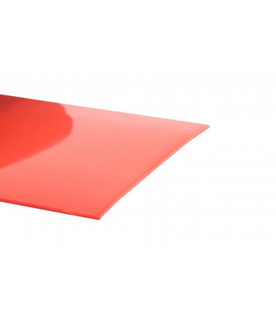 PVC juosta 35 oranžinė 3mm*300mm lygi ref.162 rulone 50m