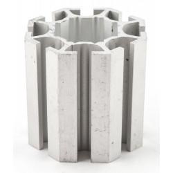 T-Flex Cube sujungimo detalė 40mm 131033 anoduotas
