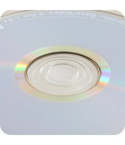 Plastikiniai lipnūs CD laikikliai DN-35mm, skaidrus