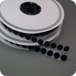Sukimbantys lipnūs apskritimai 16mm juodi